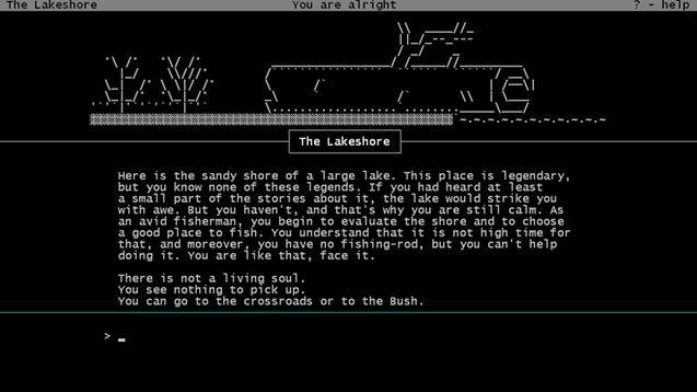 Plaisir ASCII art text adventure | Design | Ascii art, Art, Design