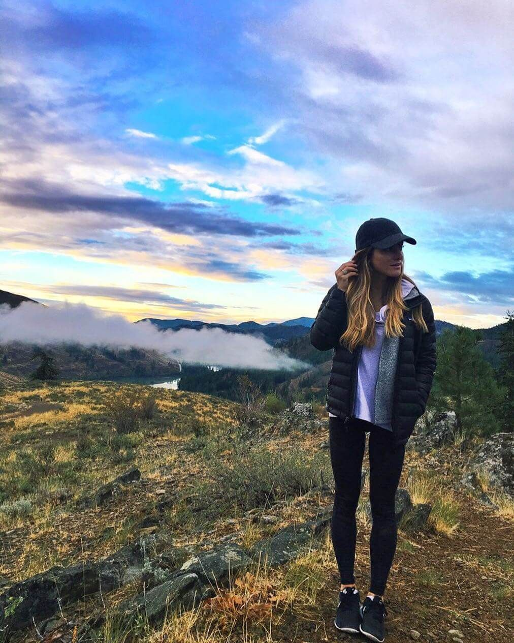 Recently on BTD - September Part 1 -  brighton the day overlooking sunset in patagonia vest and jacket brighton the day overlooking sunse - #backpackinggear #BTD #hiking #hikingbootswomen's #hikingoutfit #hikingoutfitfall #hikingoutfitsummer #hikingoutfitwinter #hikingoutfitwomen #hikingtips #hikingtrails #OutdoorTravel #part #recently #september
