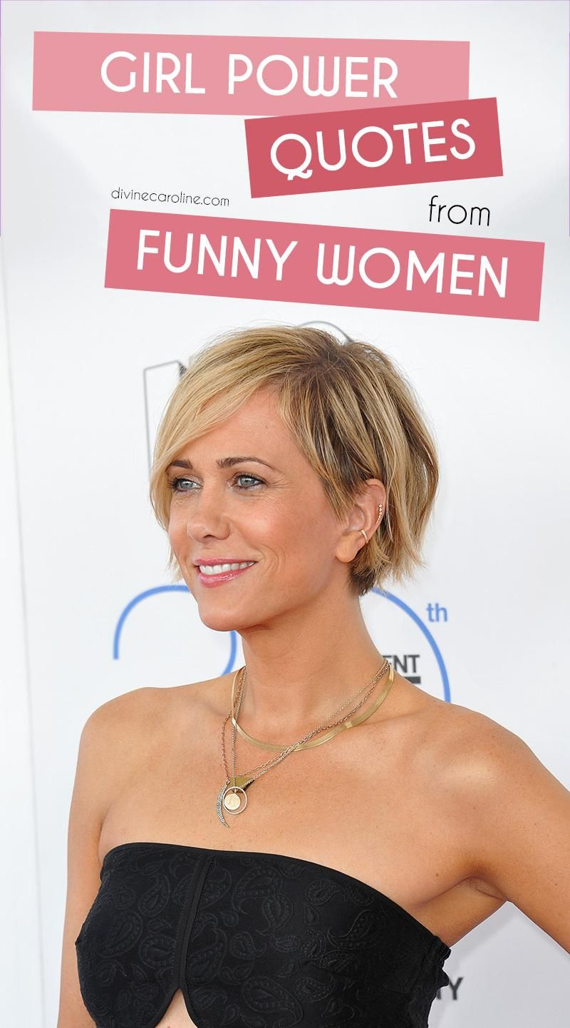 Girl power quotes from funny women hair pinterest hair short