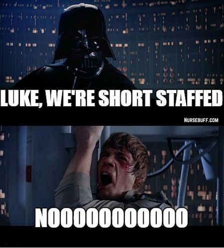 We Re Shortstaffed Star Wars Humor Star Wars Memes You Are The Father
