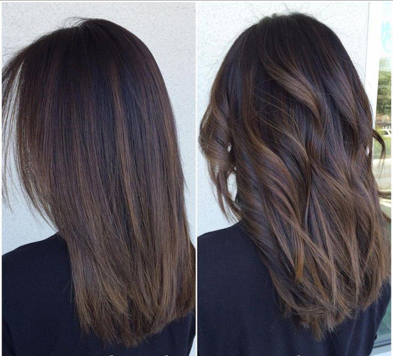 Beautiful Straight Balayage Hair Care Straightbalayagehairstyles Balayage Straight Hair Straight Hair Highlights Hair Styles