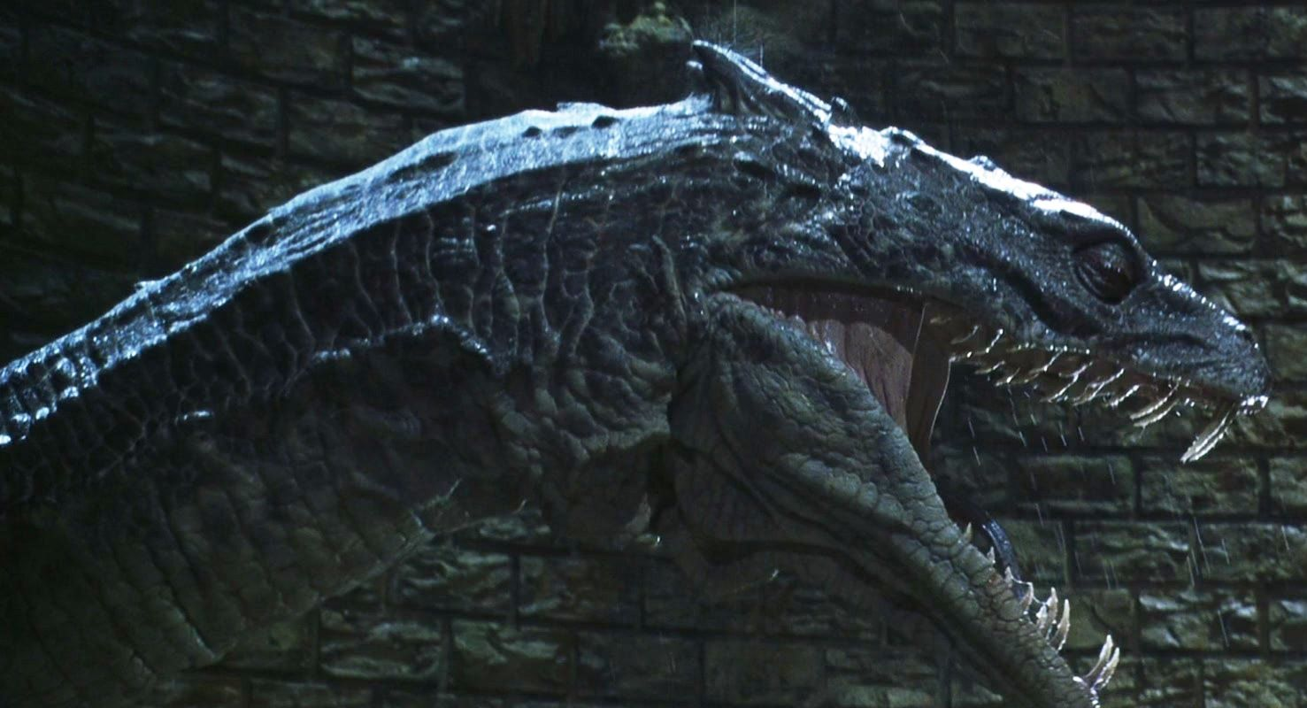 Serpent Of Slytherin Harry Potter Creatures Basilisk Harry Potter Magical Creature