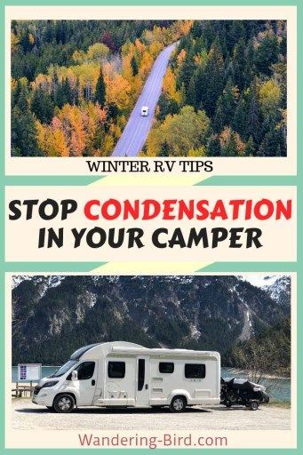Photo of 12 easy tips to Stop Condensation in your Motorhome, Campervan or RV