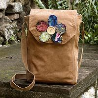 Brown Maya Flower from @NOVICA, They help #artisans succeed worldwide.