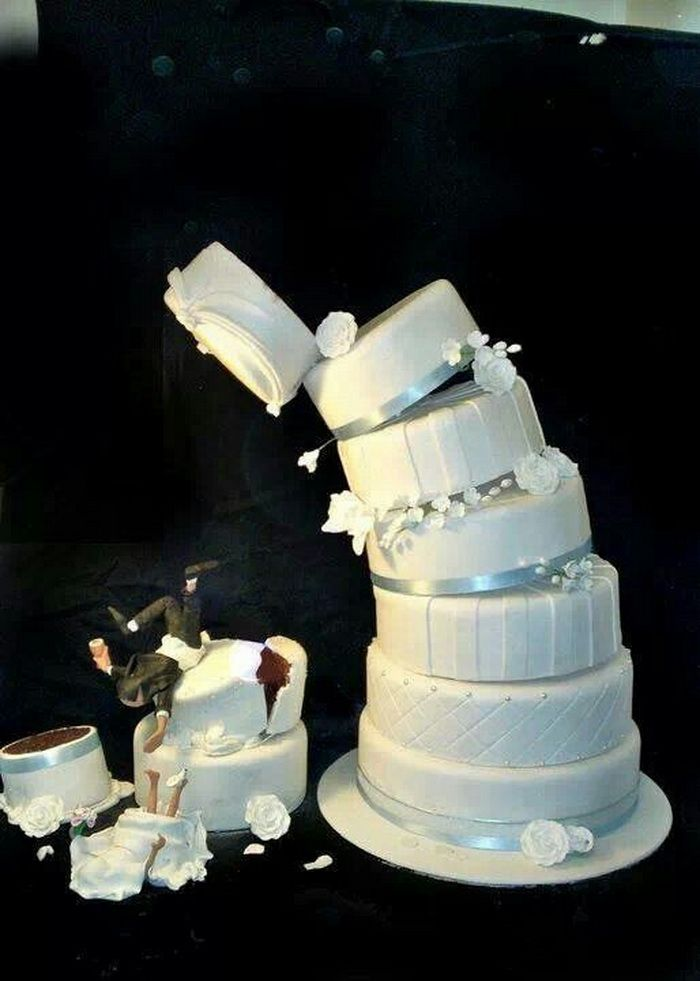 Unique And Funny Wedding Cakes