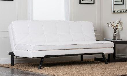 Hemingway Armless Convertible Sofa