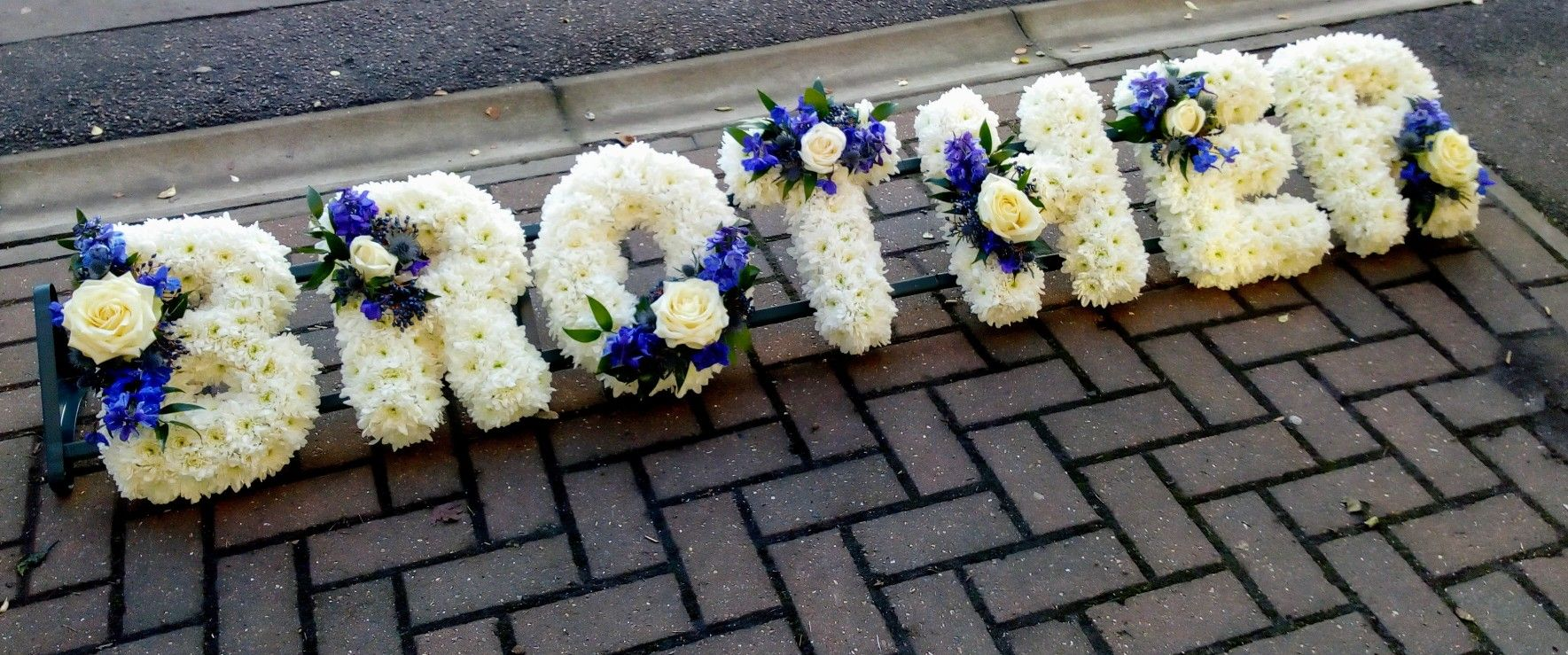 Brother Funeral Tribute My Flowers Pinterest Funeral Tributes