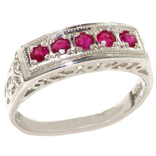 H-I Color, I2-I3 Clarity 925 Sterling Silver Real Genuine Diamond Mens Solitaire Anniversary Ring