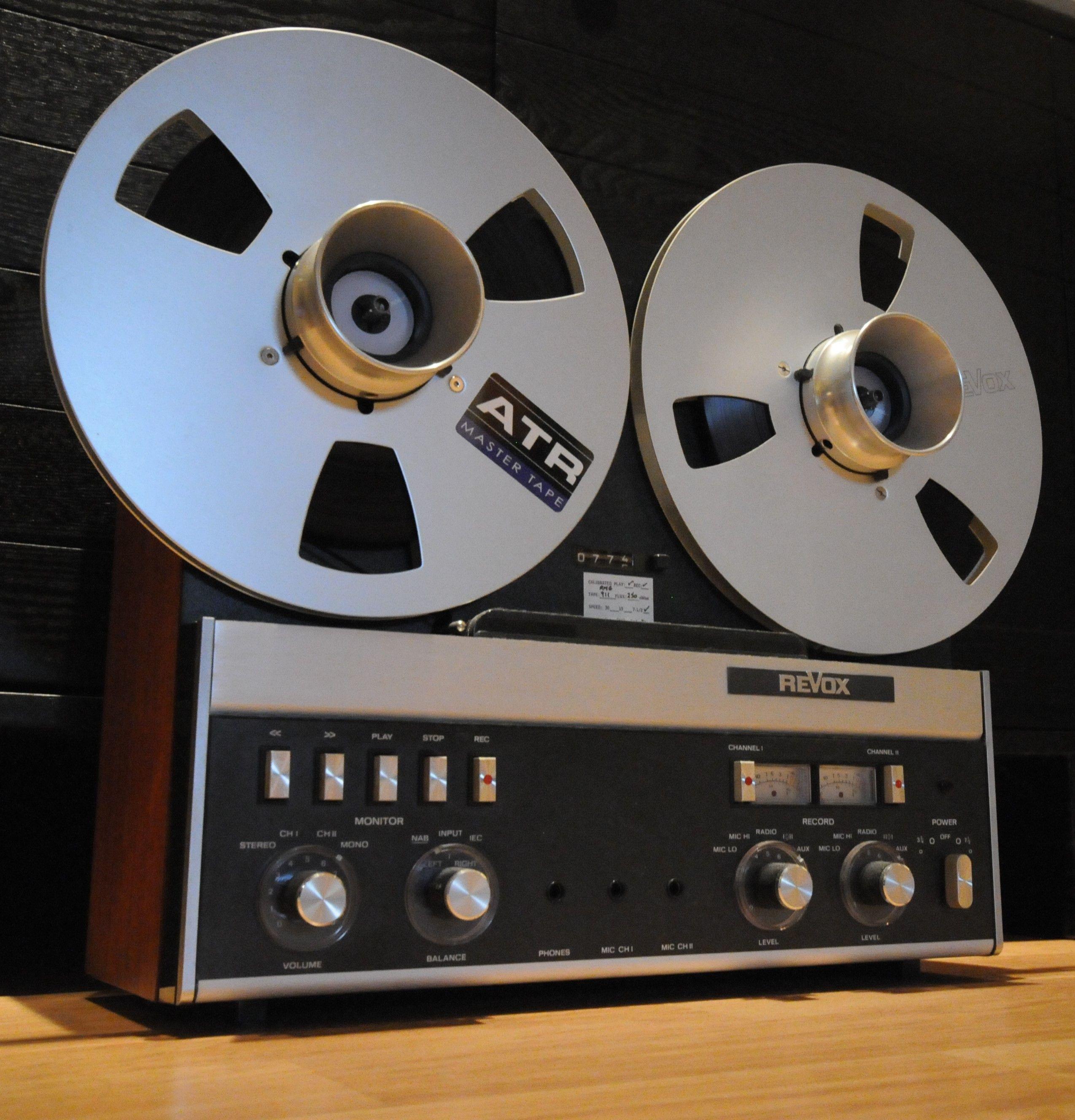 Revox A77 Reel To Reel Tape Deck In 2019 Tape Recorder
