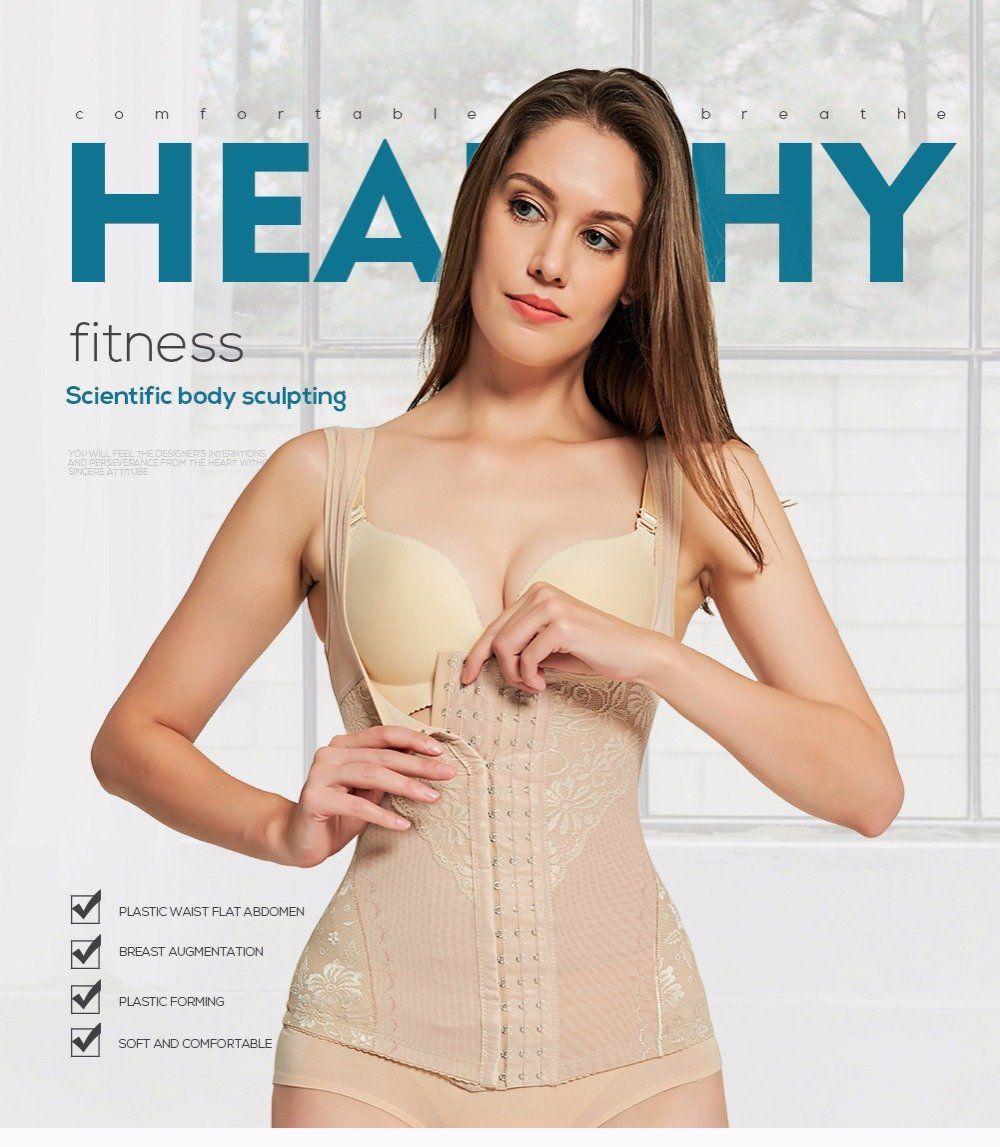 9fe16c89062aa Body Shaper Corset Waist Trainer Slimming Underwear Modeling Strap Body  Shaper Shapewear For Women