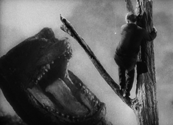 King Kong (1933)...Great Willis O'Brien special effects ...