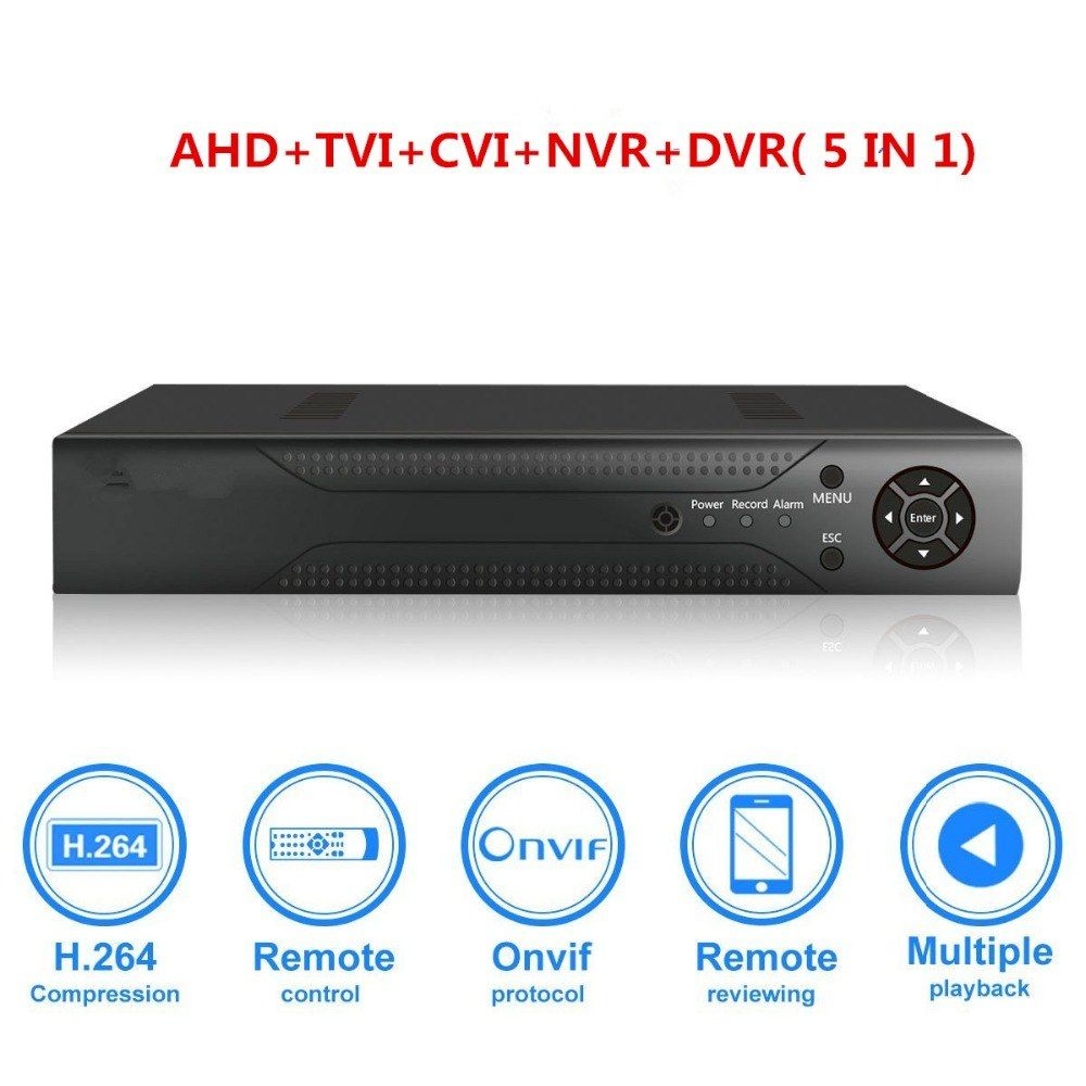 SODIAL HD 960H 4channel CCTV dvr Video Capture Card Support p2p Remote View