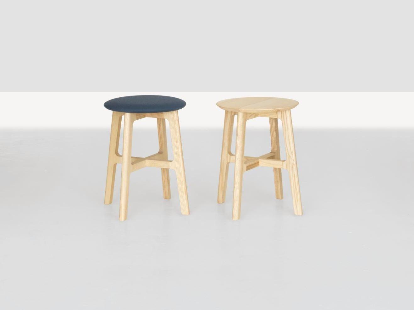 Tabouret Bas En Bois 1 3 Stool By Zeitraum Design Kihyun Kim