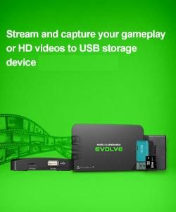 15% off Code: BLM869YI use between August 19-25, 2017 HDML-Cloner Box Evolve,  Capture game and streaming videos to USB flash drive/TF card/PC, ...