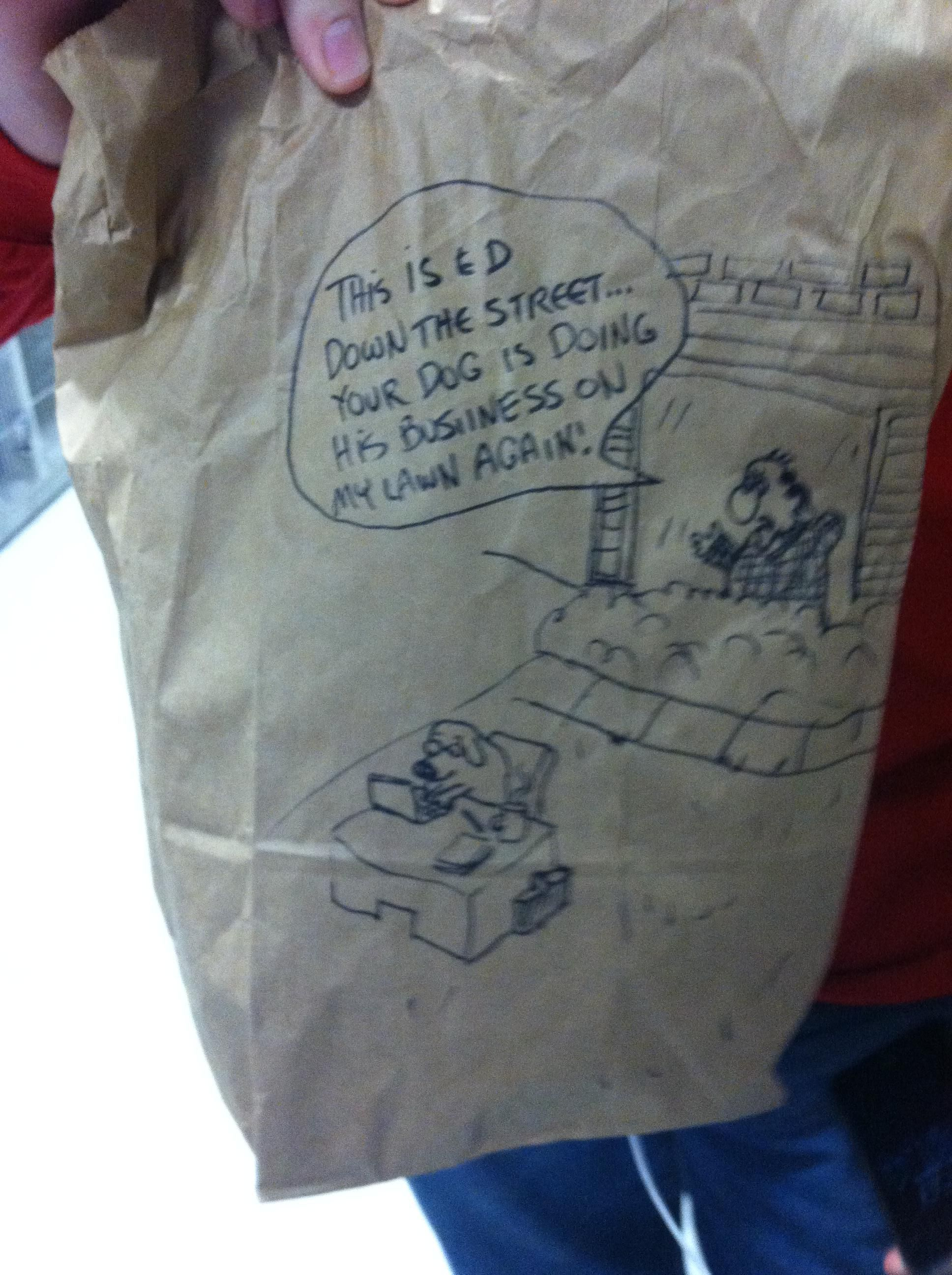 This Kid Has A New Hand Drawn Comic On His Lunch Bag Every Day This Is