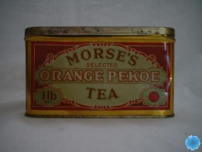 Morse S Tea Tin Orange Pekoe Pekoe Tea Tea Tins Tea