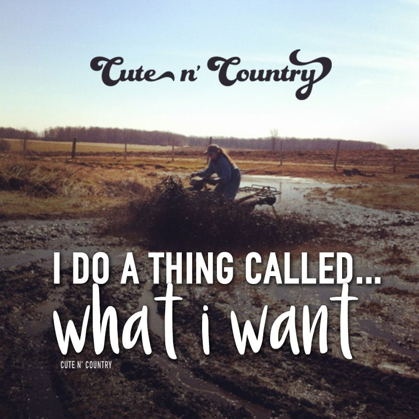 Check us out at www.cutencountry.com | Country girl quotes ...