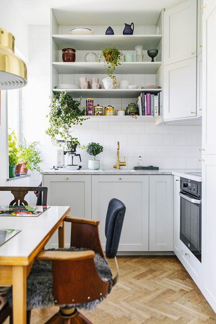 This Swedish Apartment Is A Lesson In Small Space Styling Konyhak