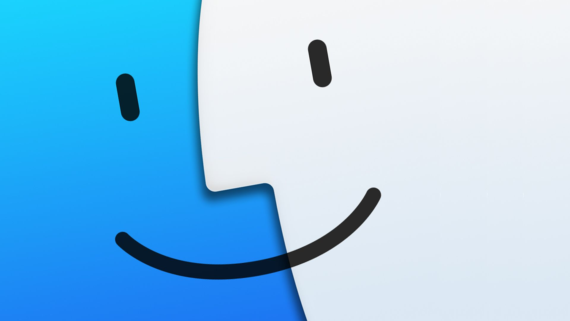 Yosemite Final Finder Icon Wallpaper