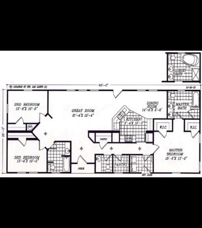 Modular ranch floor plans fuller modular homes for Modular ranch plans