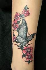 Flower and Butterfly Tattoos - Yahoo Image Search Results