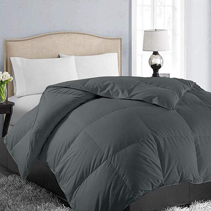 Amazon Com Easeland All Season Queen Size Soft Quilted Down