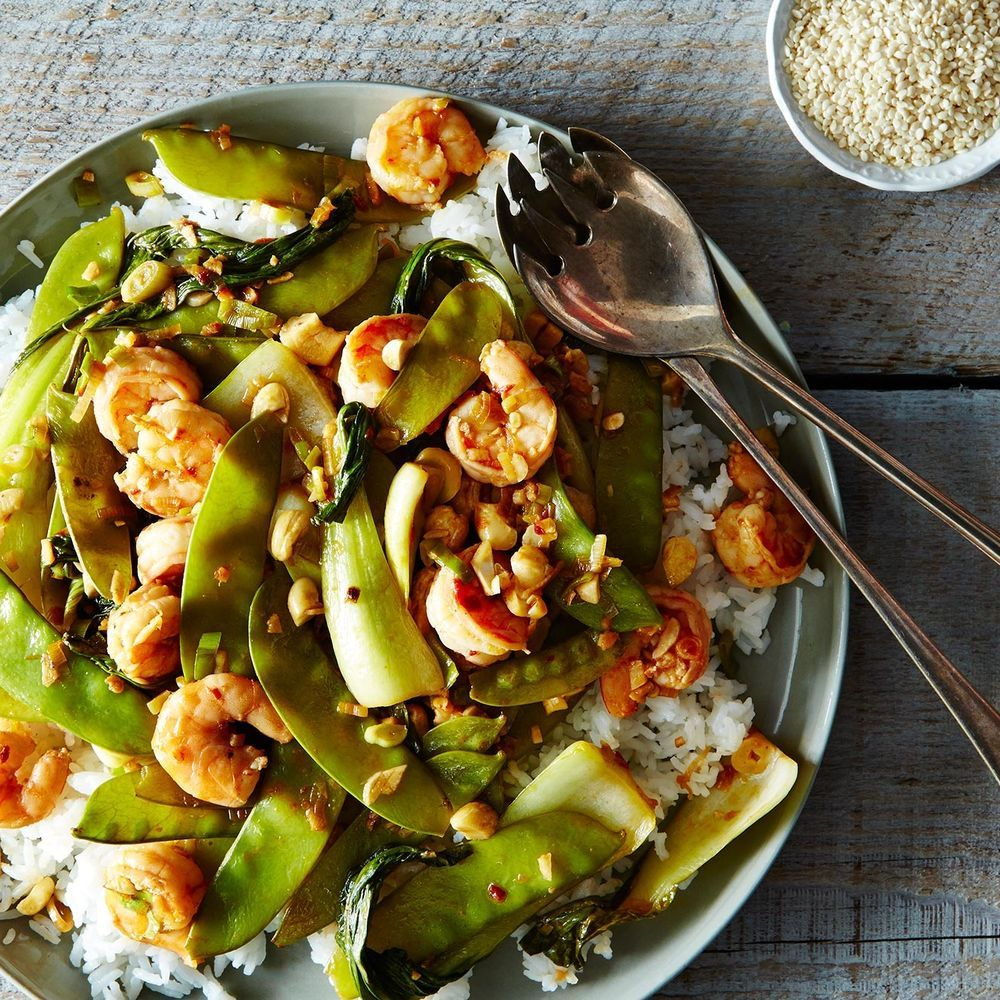 Shrimp and Baby Bok Choy Stir-Fry Recipe on Food52