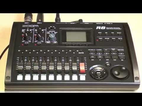 Zoom R8 Recorder Tutorial Youtube Tutorial Records Music Lessons