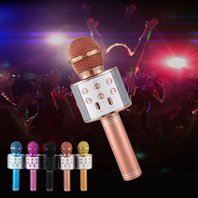 Wireless Karaoke Player Recording Singing Microphone #karaokeplayer