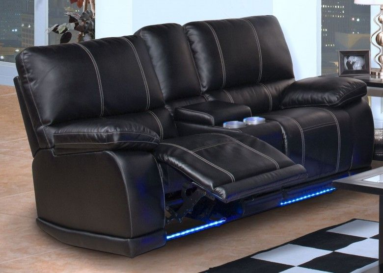 Electra Mesa Black Power Reclining Loveseat With Console Living Room Recliner Reclining Sofa Sofa Inspiration