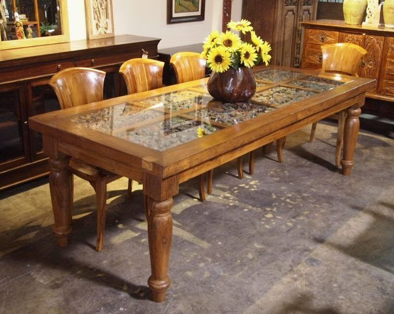 Indonesian Dining Table Dining Room Ideas - Indonesian teak dining table