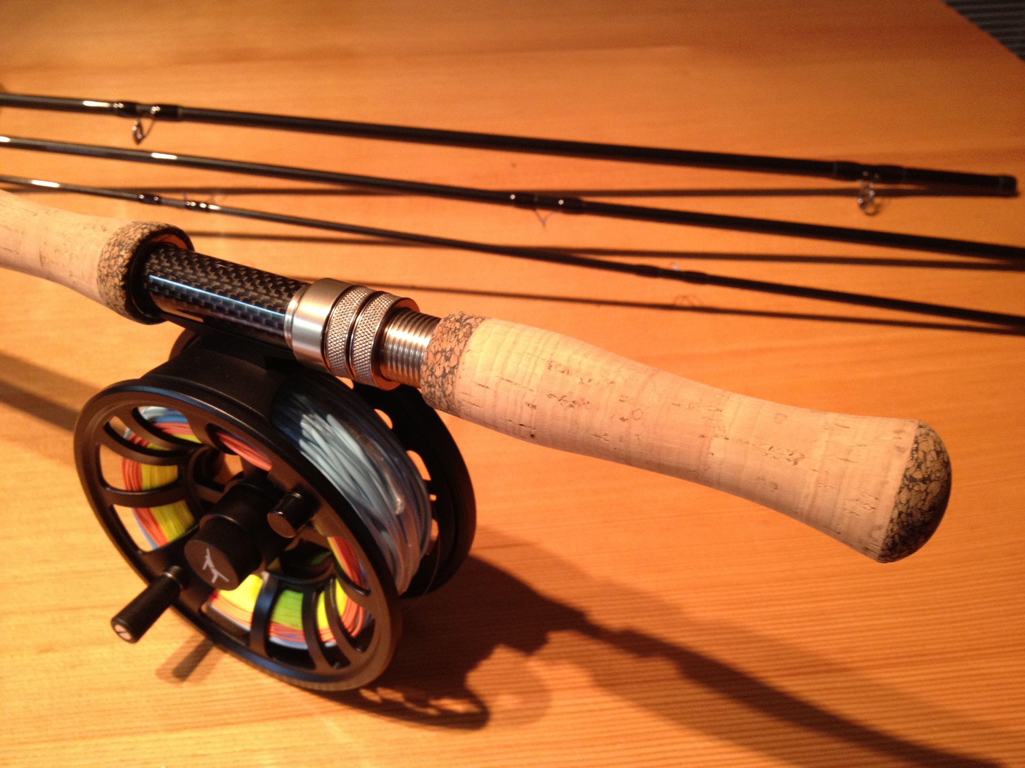 Echo Dh7130 7wt 13 Spey Rod With An Echo Ion 10 12wt Reel Loaded With Airflow Scandi Compact And Ridge Running Lin Steelhead Flies Fly Rods Fly Fishing Gear