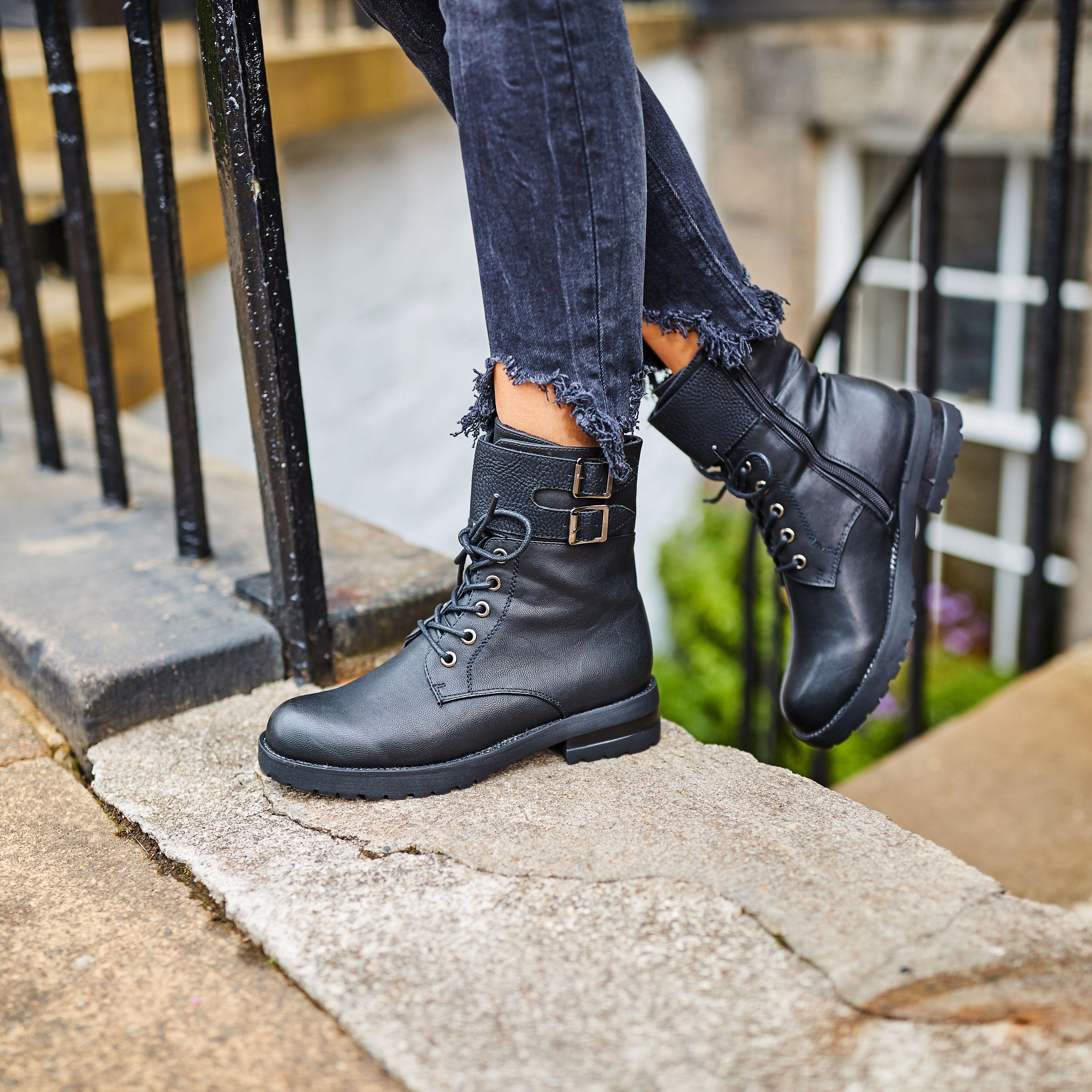 Rieker Biker Boots 99530 00 | Schuhe damen, Damenschuhe