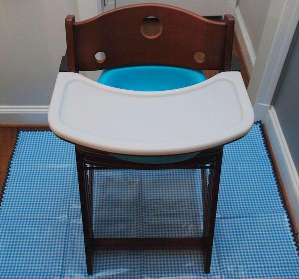 Diy Baby Food Splash Mat For Under Highchair Since We