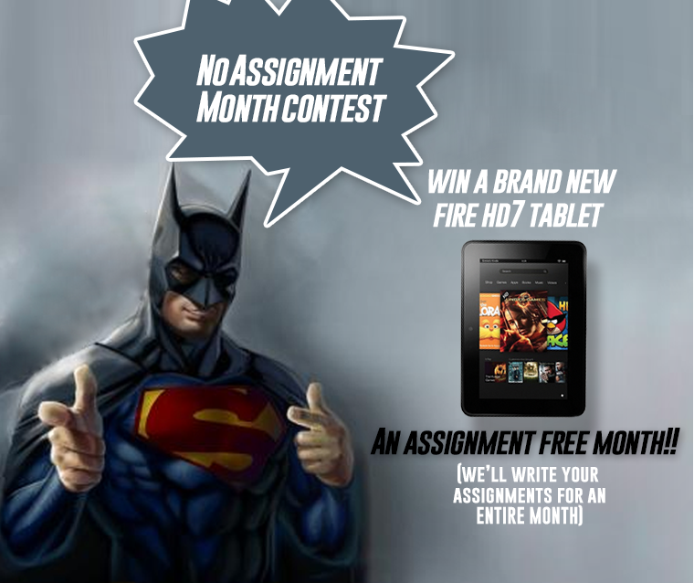 The Great Combo!  Win a FIRE HD 7 Tablet + Get your assignments written by experts for FREE! http://www.essaypoint.co.uk/no-Assignment-month/