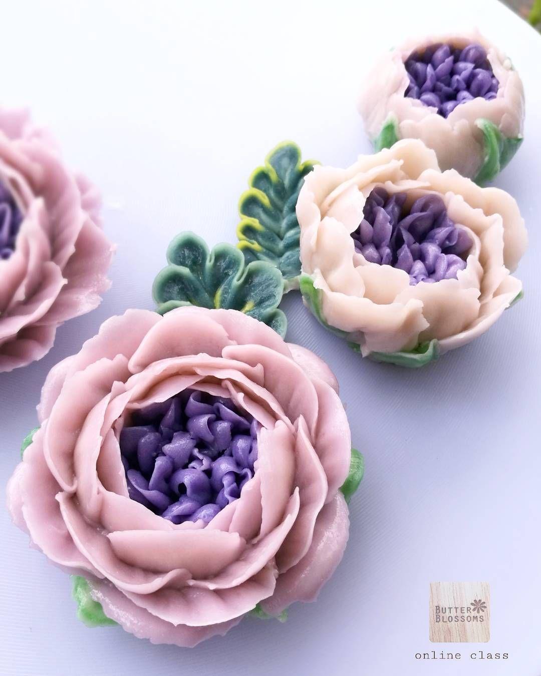 Pin On Kwiaty Z Kremu Maslanego