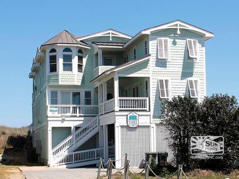 4 295 800 12 Bedrooms Nags Head 403 Sun Realty Outer Banks Vacation Rentals Obx Vacation Oceanfront Vacation Rentals