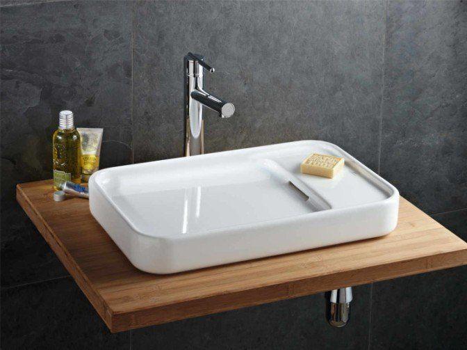 La vasque à poser, le coup de cœur ! Bathroom Mods Pinterest