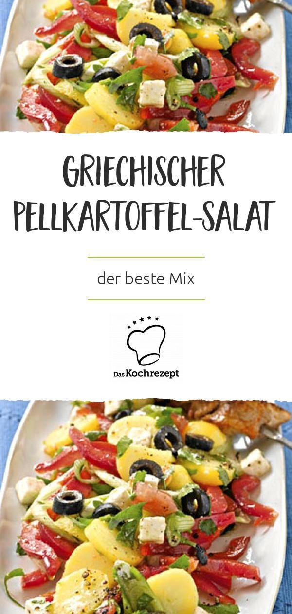 Griechischer Pellkartoffel-Salat