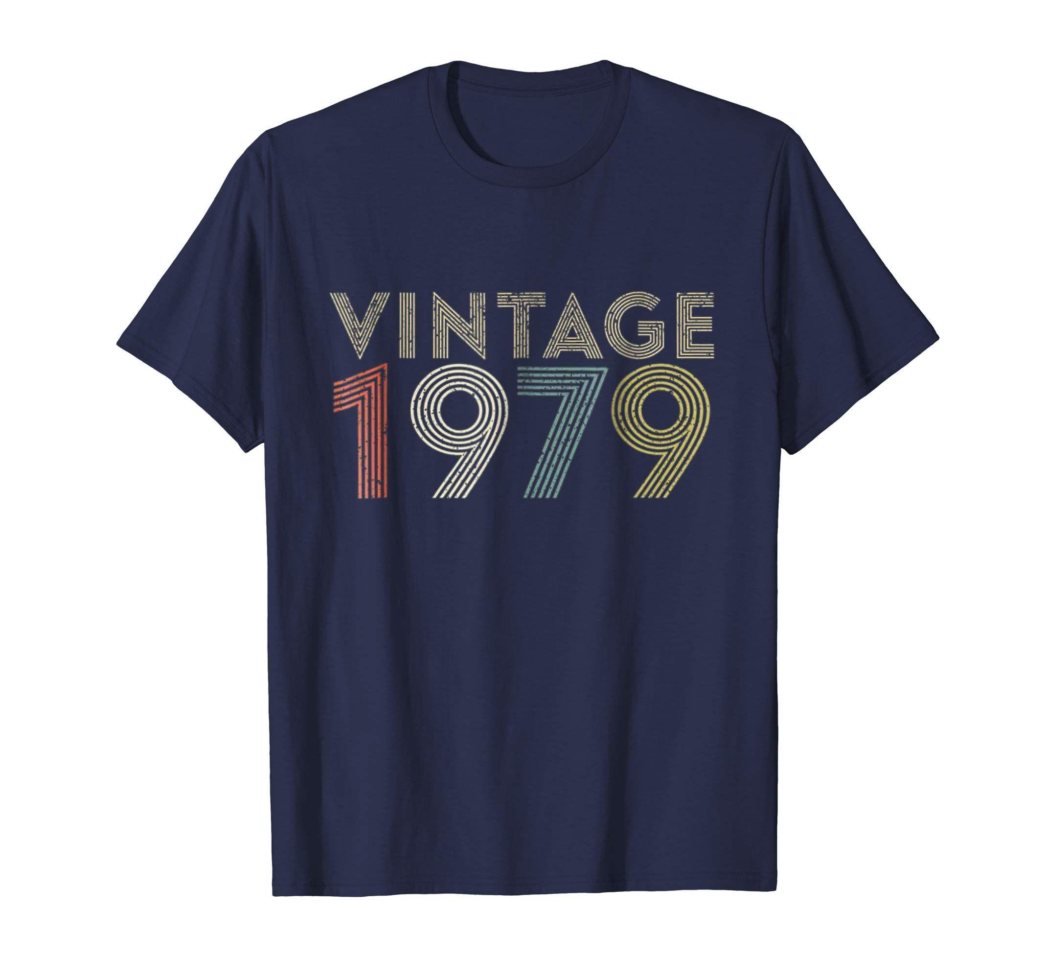 40th birthday gift vintage 1979 tshirt classic men women