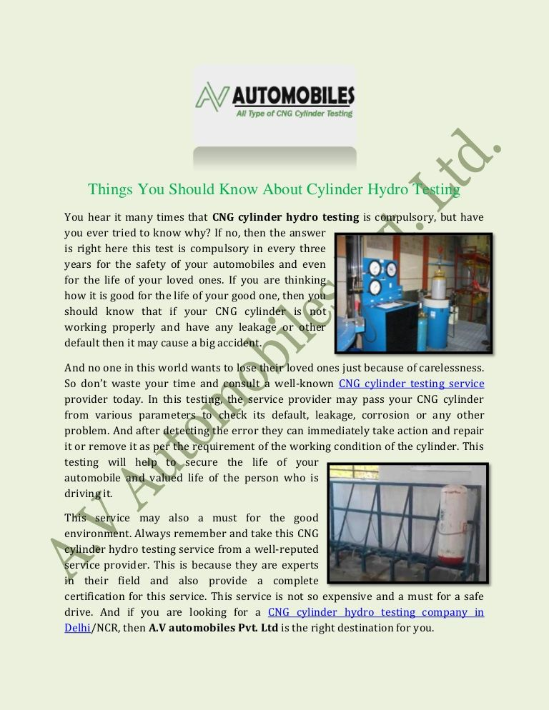Pin on CNG Cylinder Hydro Test In Delhi