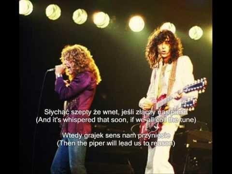 Led Zeppelin Stairway To Heaven Schody Do Nieba Tlumaczenie Pl Led Zeppelin Stairway To Heaven Zeppelin
