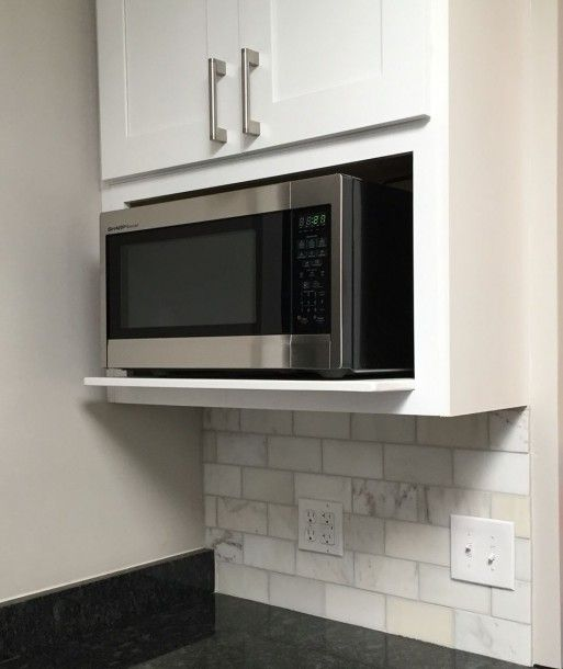 12 best microwave wall cabinet ideas