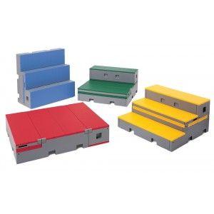 Wenger Flipforms Set Of 4 Classroom Music Staging Portable Platforms