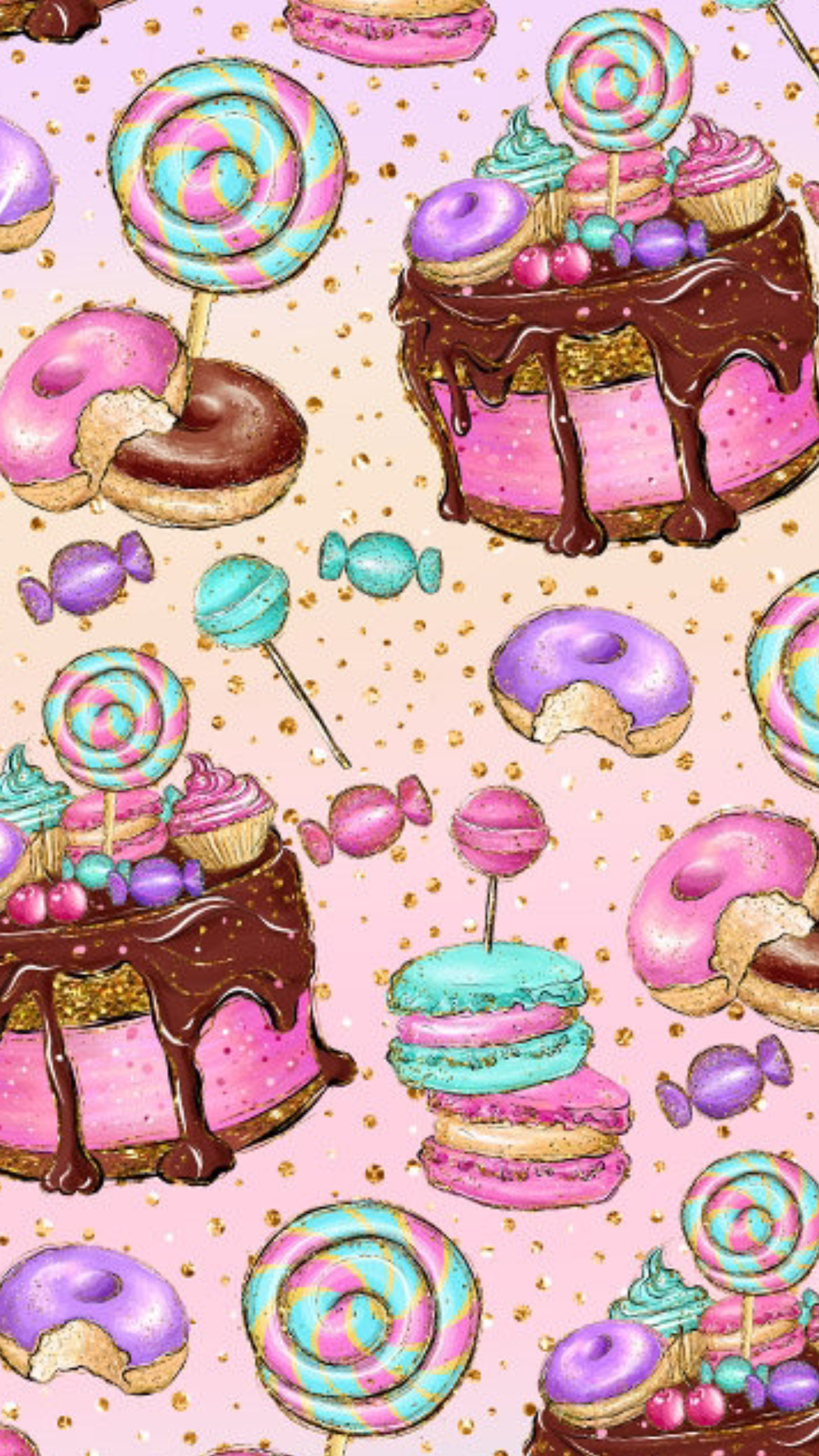Pin By Imane Crazy On Wallpapers Cupcakes Wallpaper Iphone Wallpaper Wallpaper Iphone Cute