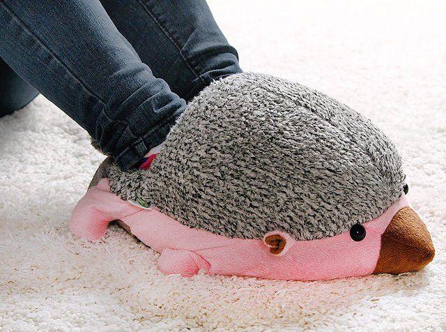 Hedgehog Usb Feet Warmer 9 Baby Hedgehog Foot Warmers Warm Shoes