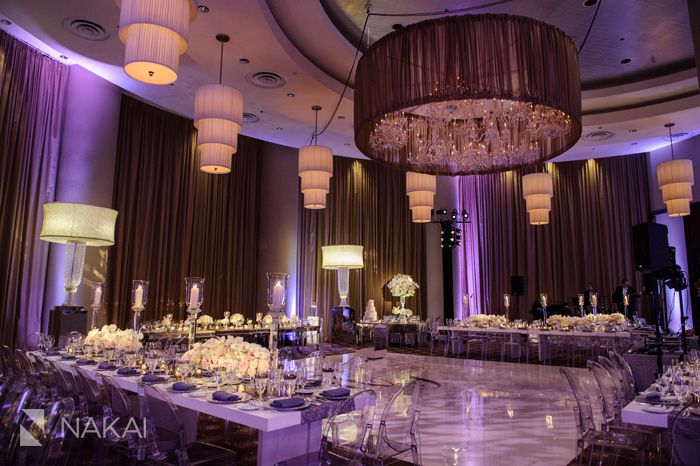 hmrdesigns for a fabulous wedding at chicago trump hotel - Purple Hotel Decor