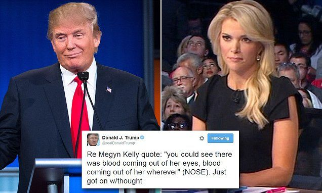 Image result for photos megyn kelly trump