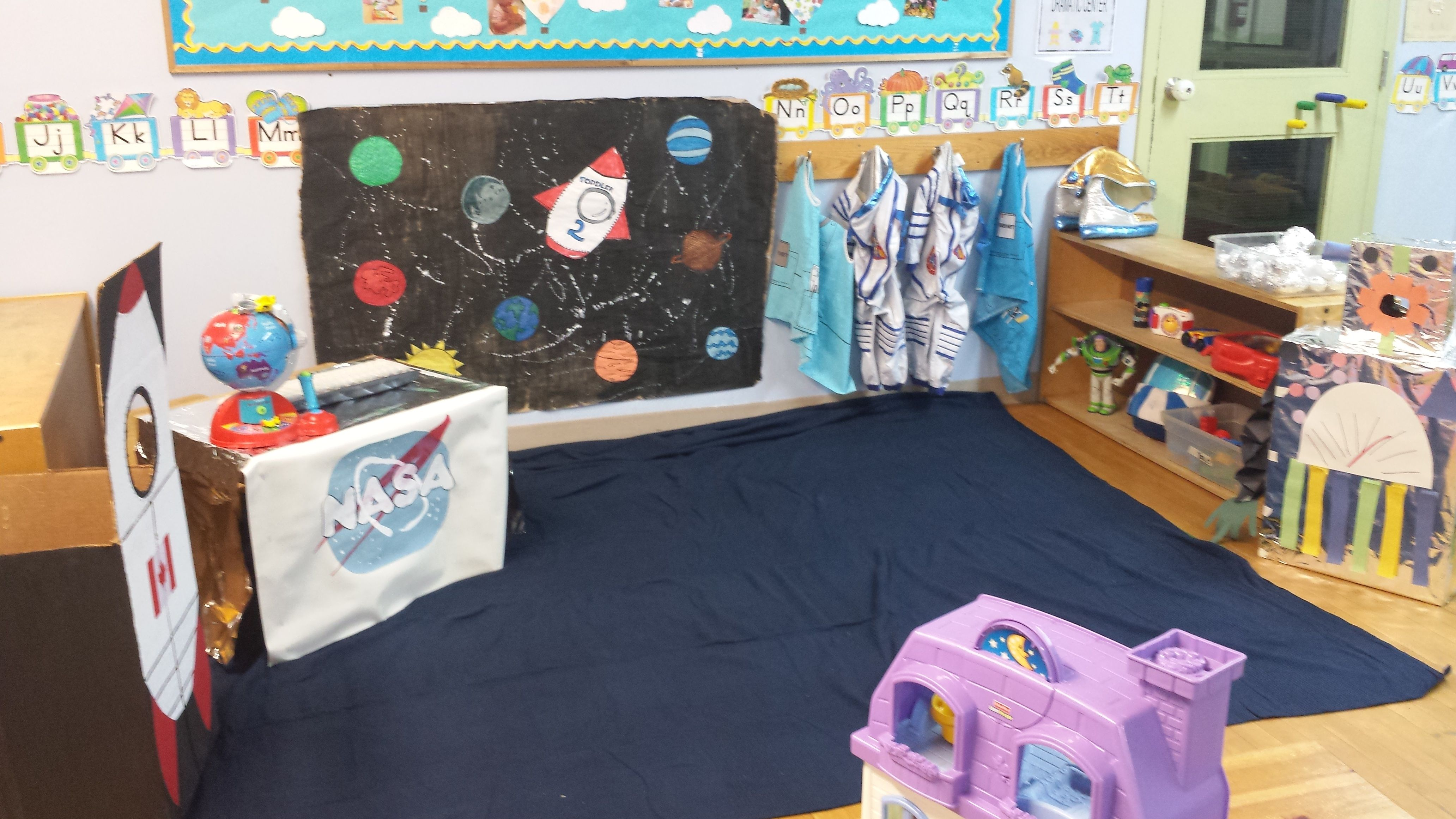 Space Dramatic Play With Images