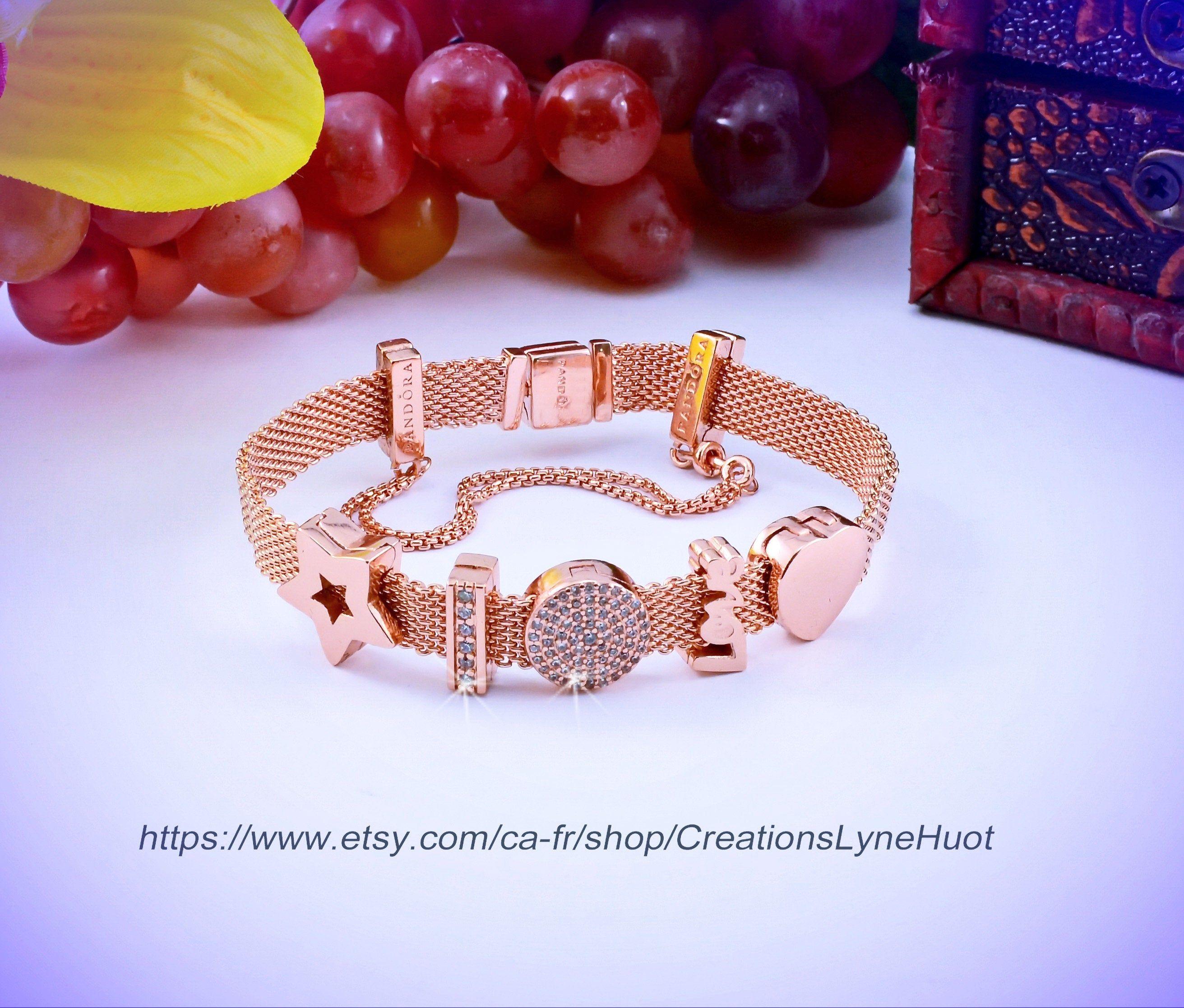 bracelet pandora femme 19cm